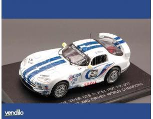 Universal Hobbies UH61600 DODGE VIPER GTS N.52 '97 FIA 1:43 Modellino