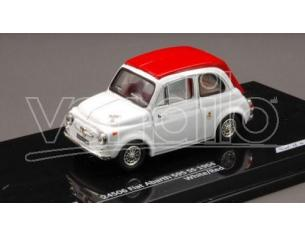 Vitesse VE24506 FIAT ABARTH 595 SS 1964 WHITE/RED 1:43 Modellino