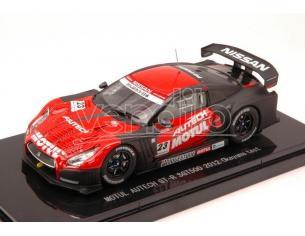 Ebbro EB44763 NISSAN GT-R N.23 SGT500 2012 OKAYAMA TEST 1:43 Modellino