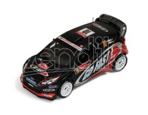 Ixo model RAM495 FORD FIESTA RS WRC N.10 13th MONTE CARLO 2012 SOLBERG-MINOR 1:43 Modellino