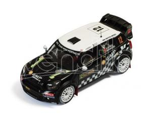 Ixo model RAM504 MINI JOHN COOPER WORKS N.12 15th RALLY SWEDEN ARAUJO-RAMALHO 1:43 Modellino