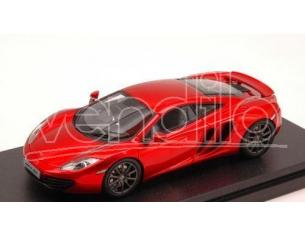 Hpi Racing HPI8861 MC LAREN MP4-12C ORANGE 2011 MERCURY RED 1:43 Modellino