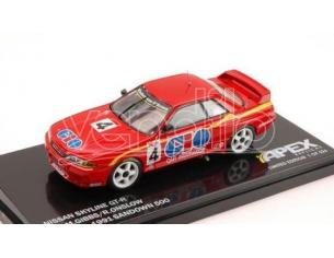 Apex Replicas AR108 NISSAN SKYLINE GT-R N.4 WINNER SANDOWN 500 1991 1:43 Modellino