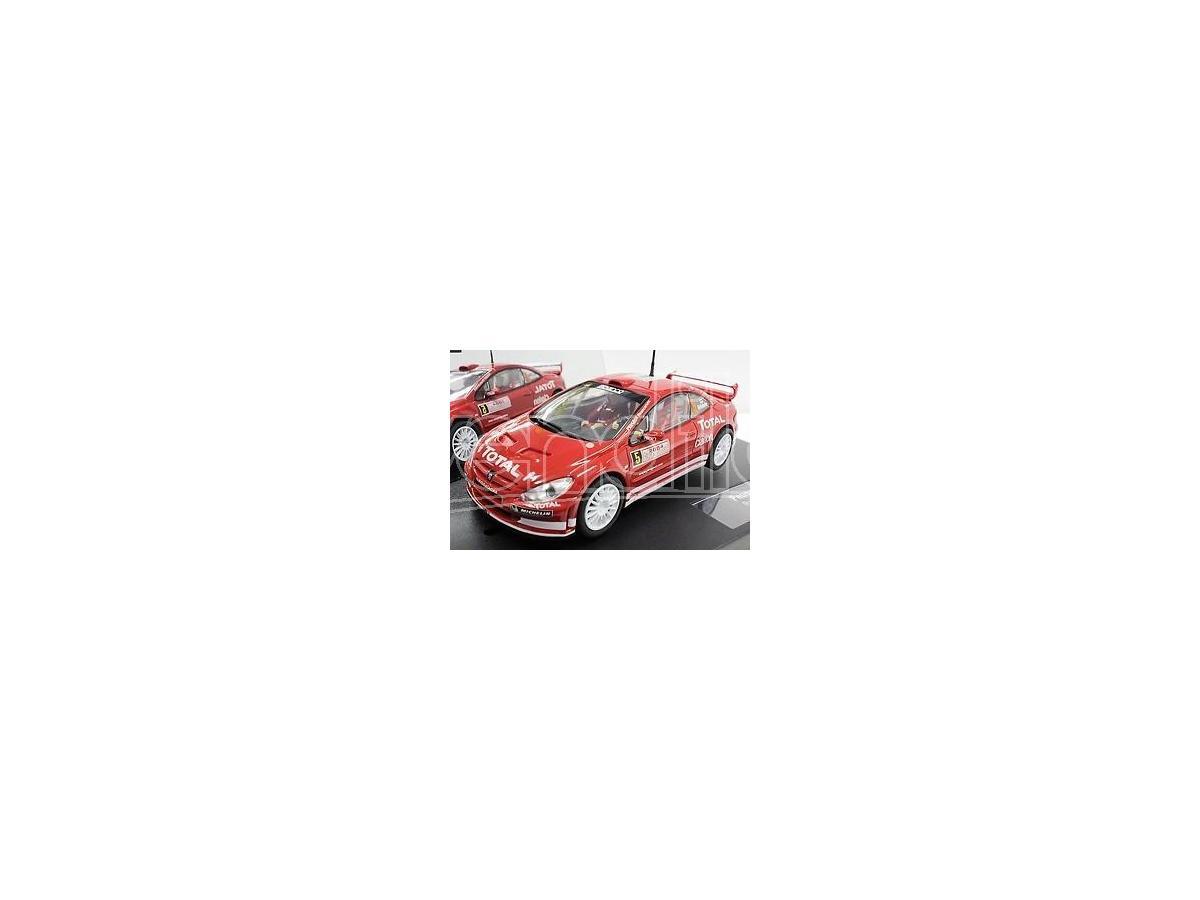 CARRERA CAR25731 PEUGEOT 307 WRC 2004 SLOT 1:32 Modellino