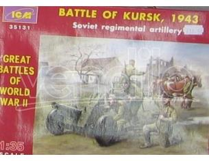 ICM ICM35131 BATTLE OF KURSK SOVIET FIGURE 1:35 Modellino