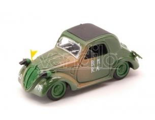Brumm BM0243B SIMCA 5 MILITARE D-DAY 1944 CLOSED 1:43 Modellino