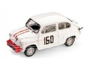 Brumm BM0306 FIAT ABARTH 850 TC P. FALORNI 1962 1:43 Die-cast Modellino