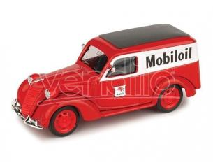 Brumm BM0344B FIAT 1100 E FURGONE MOBILOIL 1956 1:43 Modellino