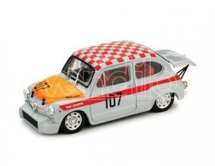 Brumm BM0379 FIAT ABARTH 1000 N.107 WINNER CLASS NURBURGRING 1967 G.EDELHOF 1:43 Modellino