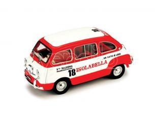 Brumm BM0410 FIAT 500 MULTIPLA AMARO ISOLABELLA 1960 1:43 Modellino