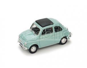 Brumm BM0465-10 FIAT 500 L 1968-72 CHIUSA GRIGIO GARDA 1:43 Modellino