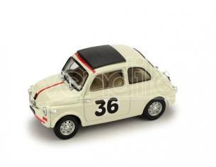 Brumm BM0476 FIAT 500 N.36 VALLELUNGA 1965 IGNAZIO GIUNTI 1:43 Modellino