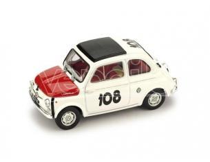 Brumm BM0479 FIAT 595 ABARTH N.108 WINNER COPPA GALLLEGA 1965 LEONARDO DURST 1:43 Modellino