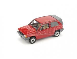 Brumm BM0505 FIAT PANDA FURGONETTA MORETTI 1982 RED 1:43 Modellino