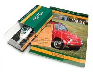 Brumm S02-08 FIAT 500 + BOOK FIAT 500 NADA 1/43 Modellino