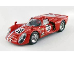 Best Model BT9502 ALFA ROMEO 33.2 N.38 LM TEST 1968 GOSSELIN-TROSCH 1:43 Modellino