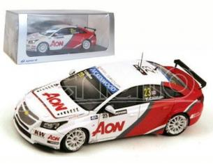 Spark Model S2455 CHEVROLET CRUZE 1.6T N.23 WTCC 2013 TOM CHILTON 1:43 Modellino