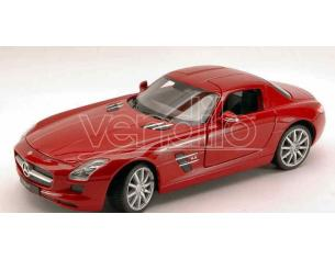 Welly WE4244 MERCEDES SLS AMG 2009 RED 1:24 Modellino