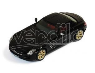 Ixo model MOC118 MERCEDES SLS AMG (RSK8) 2011 BLACK 1:43 Modellino