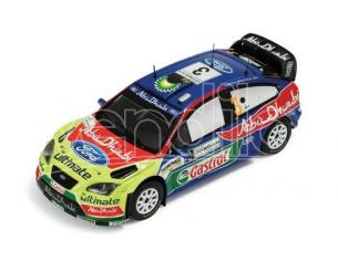 Ixo model RAM326 FORD FOCUS RS WRC N.3 WINNER JORDAN RALLY HIRVONEN-LEHTINEN 1:43 Modellino