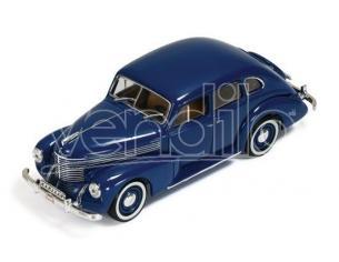 Ixo model MUS050 OPEL KAPITAN 4-DOOR SEDAN (SECOND GENERATION) 1950 BLUE 1:43 Modellino