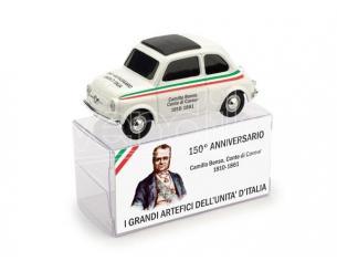Brumm BMBR017 FIAT 500 CAMILLO BENSO CONTE DI CAVOUR 1:43 Modellino