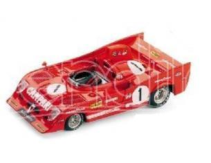 Brumm BM0241 ALFA ROMEO 33 TT12 N.1 2nd 1000 KM SPA 1975 MERZARIO-ICKX 1:43 Modellino