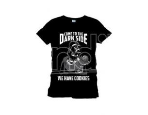 Star Wars Maglia T Shirt Come To The Dark Side nero black Size XL CODI