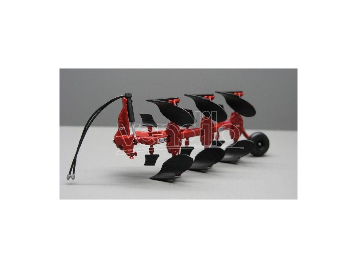 Replicagri REPLI102 ARATRO TRIVOMERE VOLTAORECCHIO IH 155 1:32 Modellino