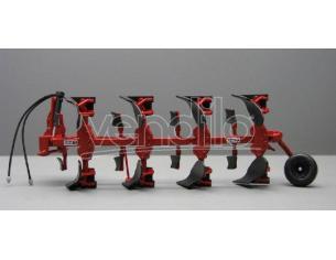 Replicagri REPLI103 ARATRO QUADRIVOMERE VOLTAORECCHIO IH 155-4 1:32 Modellino