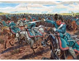 Italeri IT6081 NAPOLEONIC WARS CAVALLERIA PRUSSIANA KIT 1:72 Modellino