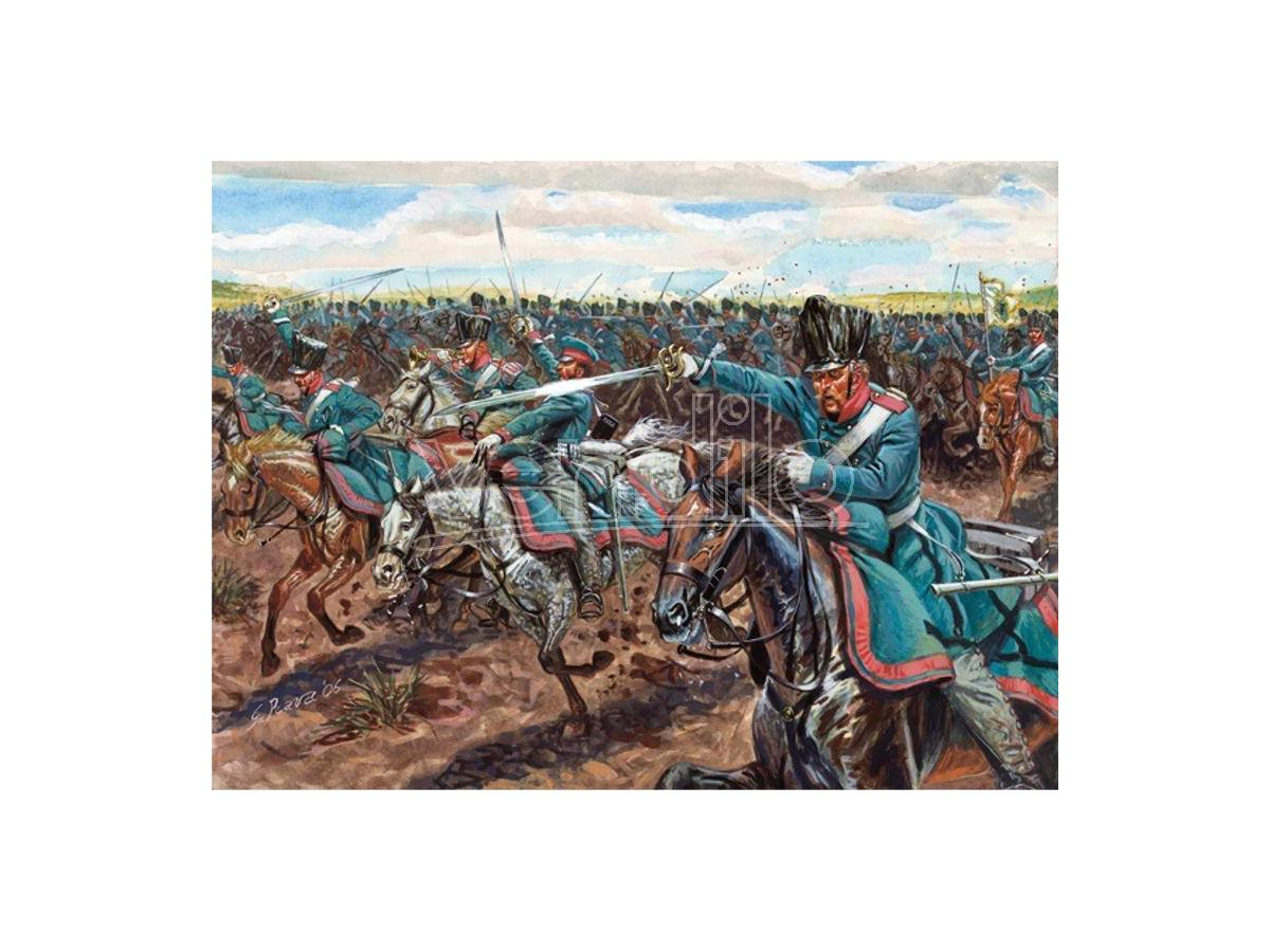 Italeri IT6081 NAPOLEONIC WARS CAVALLERIA PRUSSIANA KIT 1:72 Modellino