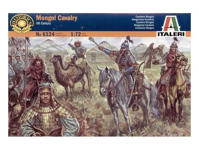 Italeri IT6124 XIIIth CENTURY MONGOL CAVALRY KIT 1:72 Modellino