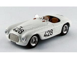 Art Model AM0280 FERRARI 166 MM N.428 9th T.FLORIO 1950 MUSSO-GABOARDI 1:43 Modellino