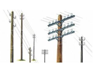 Italeri IT0404 TELEGRAPH POLES KIT 1:35 Modellino