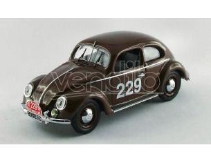 Rio RI4414 VW COCCINELLE N.229 52th MONTE CARLO 1952 NATHAN-SCHELLHAAS 1:43 Modellino
