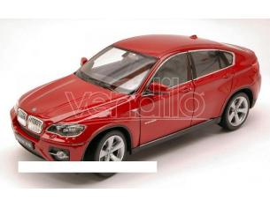 Welly WE2540 BMW X6 2009 RED MET.1:24 Modellino