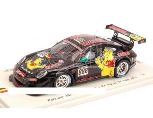 Spark Model SB025 Porsche 997 Gt3 R 888 2011 WESTBROOK-MENZEL 1:43