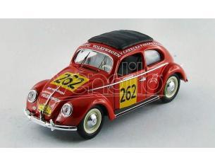 Rio RI4418 VW BEETLE N.262 CARRERA PANAMERICANA 1954 J.WIERS-R.WIERS 1:43 Modellino
