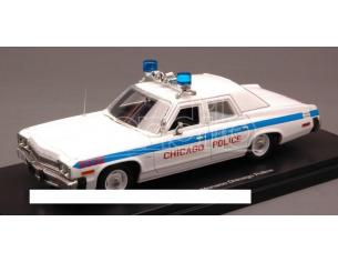 Auto World AWR1142 DODGE MONACO CHICAGO POLICE 1974 1:43 Modellino