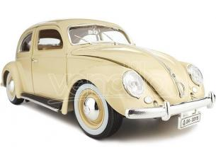 BBURAGO BU12029CR VW KAFER BEETLE 1955 CREAM 1:18 Modellino