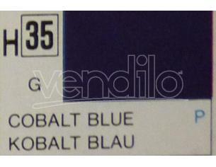 Gunze GU0035 COBALT BLUE GLOSS ml 10 Pz.6 Modellino