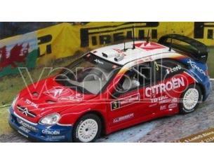 Vitesse 43214 CITROEN XSARA WRC LOEB / ELENARALLY GB 2004 1/43 Modellino