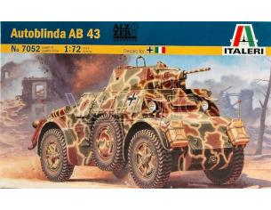 Italeri IT7052 AUTOBLINDA AB 43 KIT 1:72 Modellino