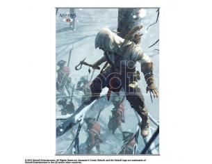 SQUARE ENIX ASSASSINS CREED III WALL SCROLL 2 POSTER