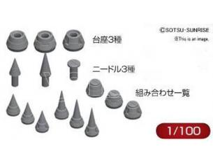 BANDAI MODEL KIT BUILDERS PARTS HD MS SPIKE 01 1/100 ACCESSORI