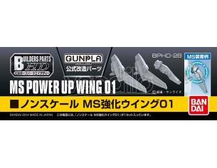 BANDAI MODEL KIT BUILDERS PARTS HD MS WING 01 ACCESSORI