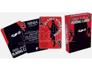 AQUARIUS ENT NINJA TIPS PLAYING CARDS CARTE DA GIOCO