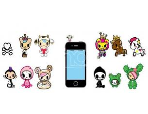 TOKIDOKI PHONEZIES PVC FIG DISPLAY (30) ACCESSORI PER CELLULARE