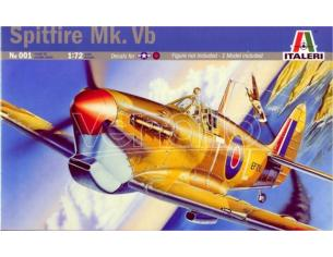 Italeri IT0001 SPITFIRE MK VB KIT 1:72 Modellino